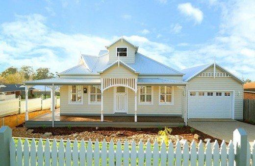 Laila smarthomes - Modern weatherboard home designs ...