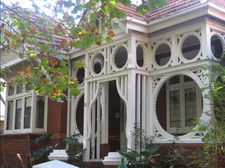 Federation Art Nouveau Homes 1895 1915