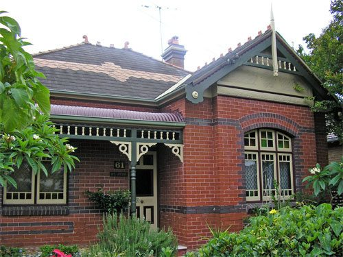Federation Edwardian Homes C1900 1915