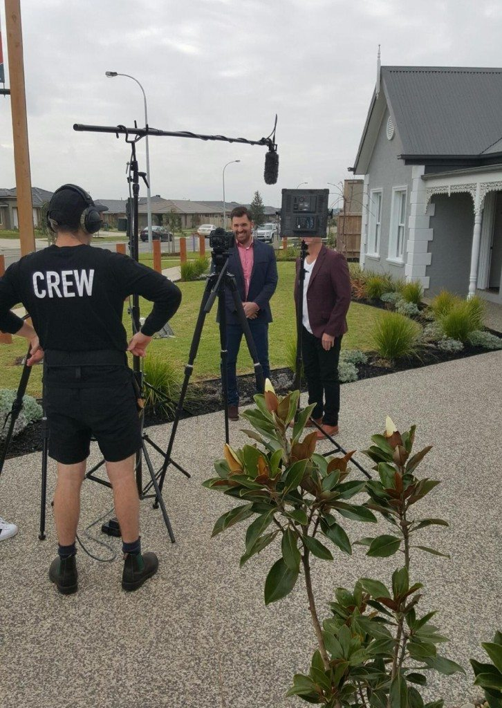 Filming Australias best homes 1cropped