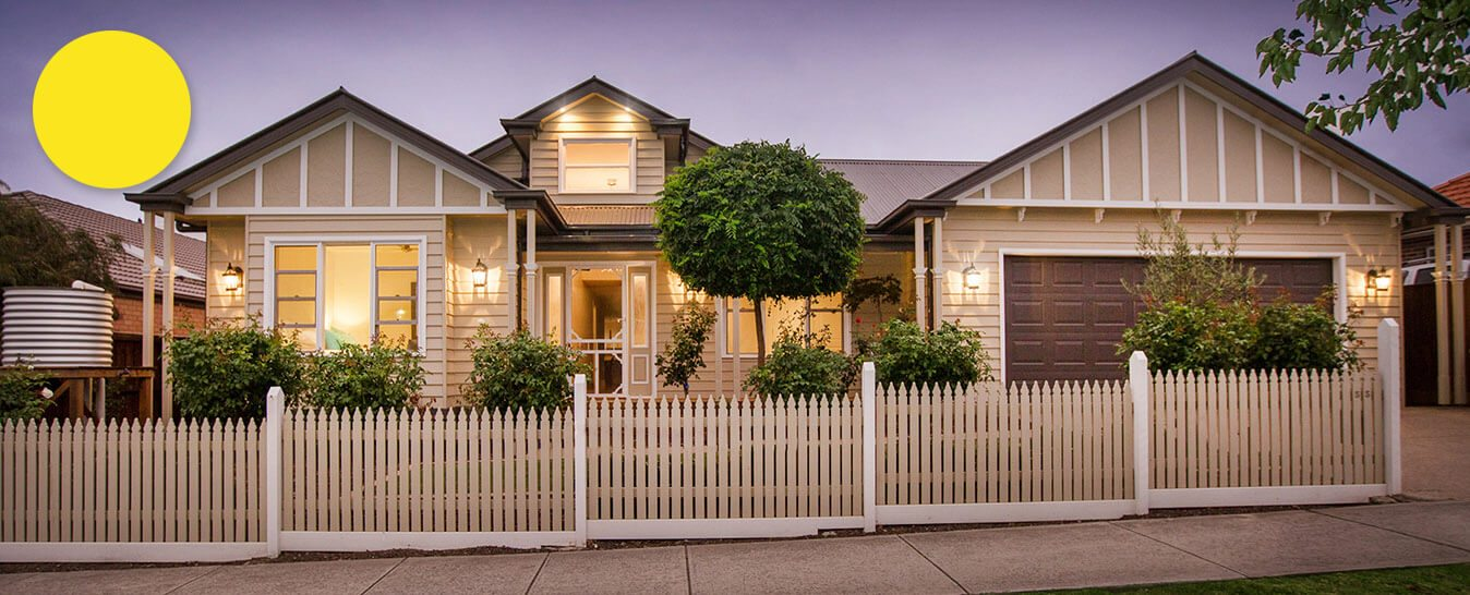 Weatherboard ranch style homes builders harkaway for Weatherboard house designs