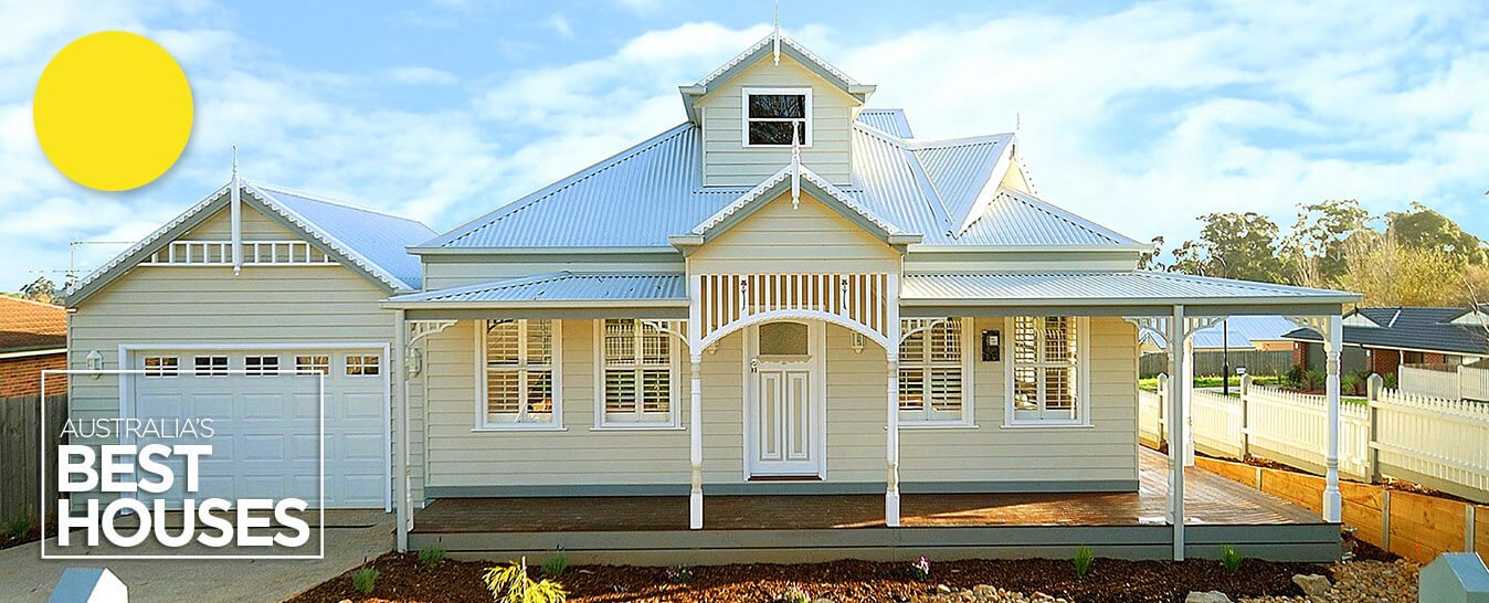 Weatherboard ranch style homes builders harkaway American home builder